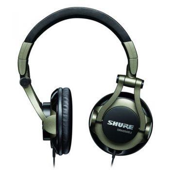 SHURE SRH 550DJ Auricular profesional estéreo giratorio 90º para DJ