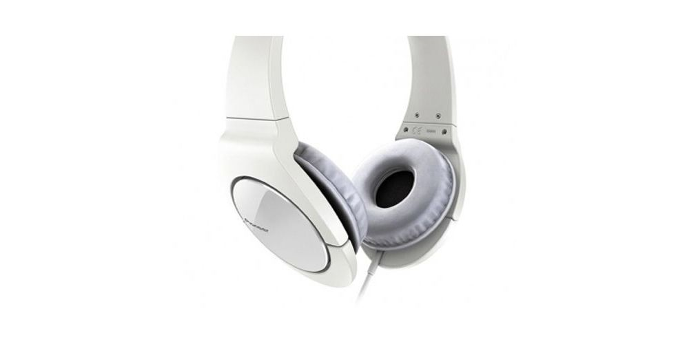 PIONEER SE-MJ721-W  Auriculares Cerrados Blancos