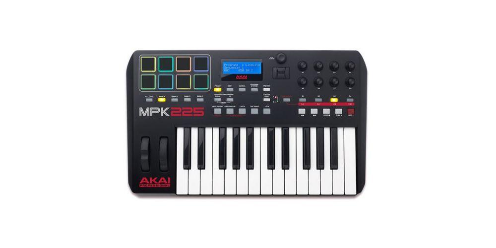 Akai teclado controlador midi MPK225