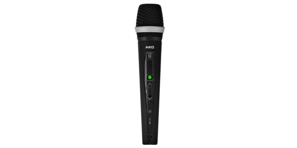 akg wms420 vocal set microfono mano