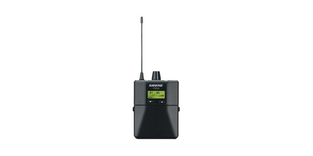 shure p3ra transmisor in ear