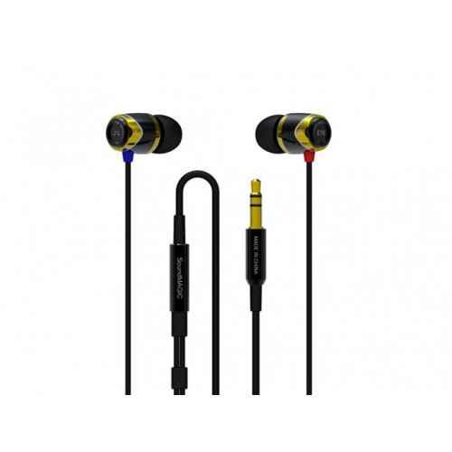 SoundMagic E10 Negro/Dorado Auriculares IN EAR