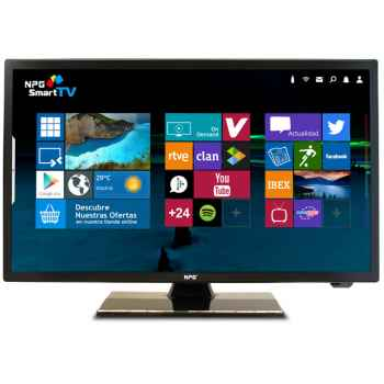 "NPG TV S300DL24G Tv Led 24"" Smart TV Full HD 1080p"
