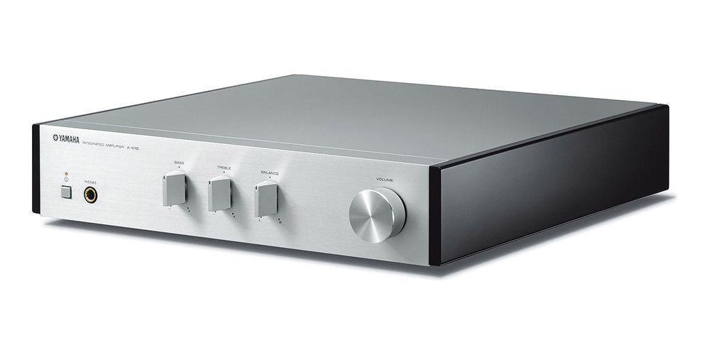 yamaha mcrn670 silver amplificador