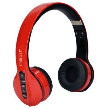 NEVIR 944BH Auriculares Bluetooth Rojo