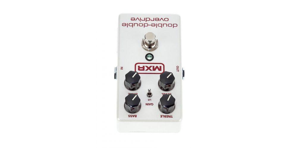 mxr m250 double double overdrive controles