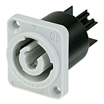 Neutrik NAC 3 MPB Conector Chasis PowerCon gris
