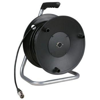DAP Audio Carro de cable para micrófono de 50m