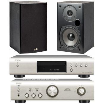 Equipo HiFi. DENON PMA-520SI + DCD520SI POLK AUDIO T15B Equipo 520/T15B
