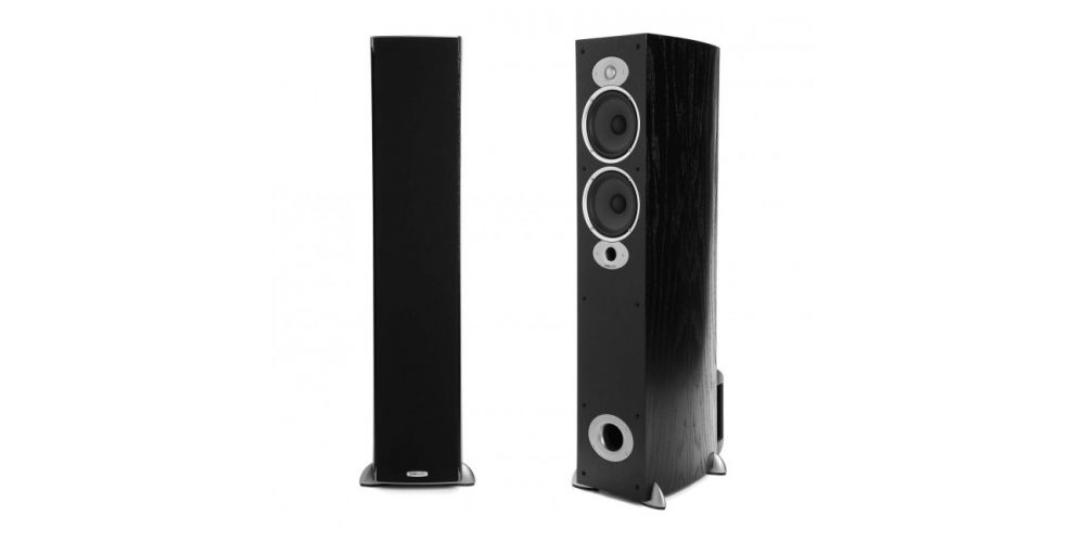 polk audio rti a5 black altavoces suelo