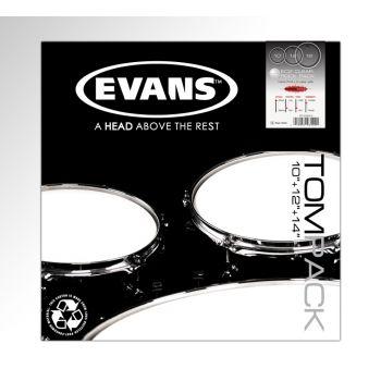 Evans ETPEC2SCLRR, Parche, Pack 10