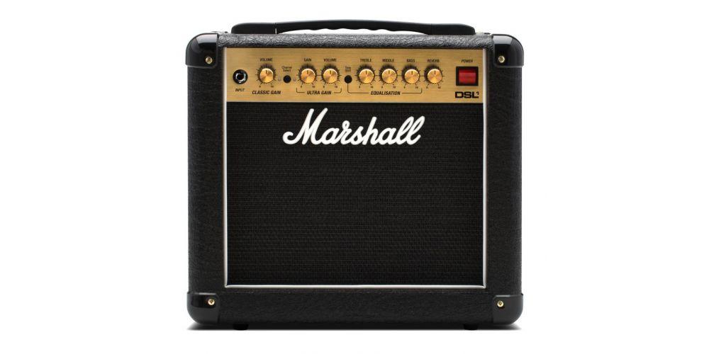 marshall dsl1 combo amplificador