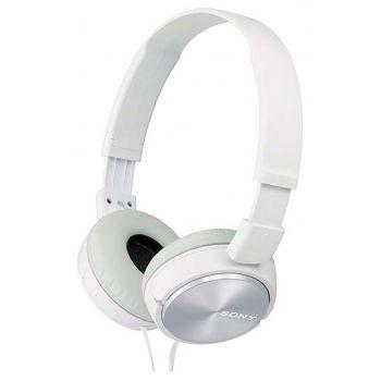 SONY MDR-ZX310AP W Blanco Auricular Plegable con Micrófono