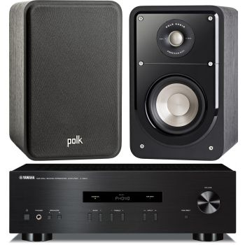 Equipo HiFi. Amplificador YAMAHA AS201 + Altavoces Polk Audio Signature S15