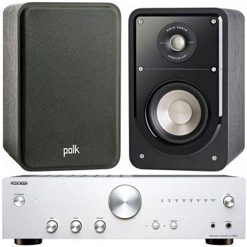 ONKYO A-9010 Si+ Polk Audio S15 BK Conjunto Sonido