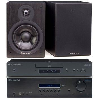 CAMBRIDGE TOPAZ SR-10+TOPAZ CD-5+SX50 BLACK Conjunto audio