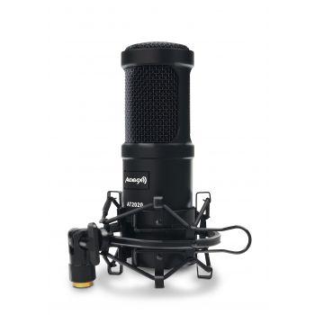 Audibax AT2020 Micrófono Estudio Profesional Condensador
