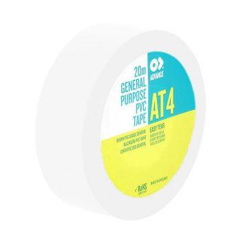 Antari PVC Tape AT4 White 19mm 20mtr Cinta 90672