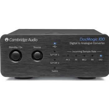 Cambridge Audio DACMAGIC 100 Black Conversor Digital a Analógico