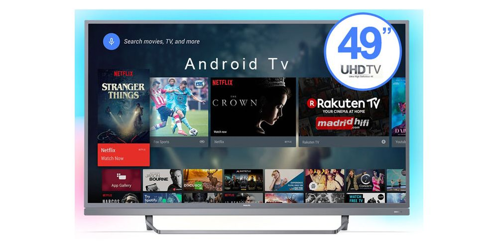 49PUS7503 49 ambilight android