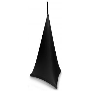 Beamz Lycra Stand Sleeve 1,2m black