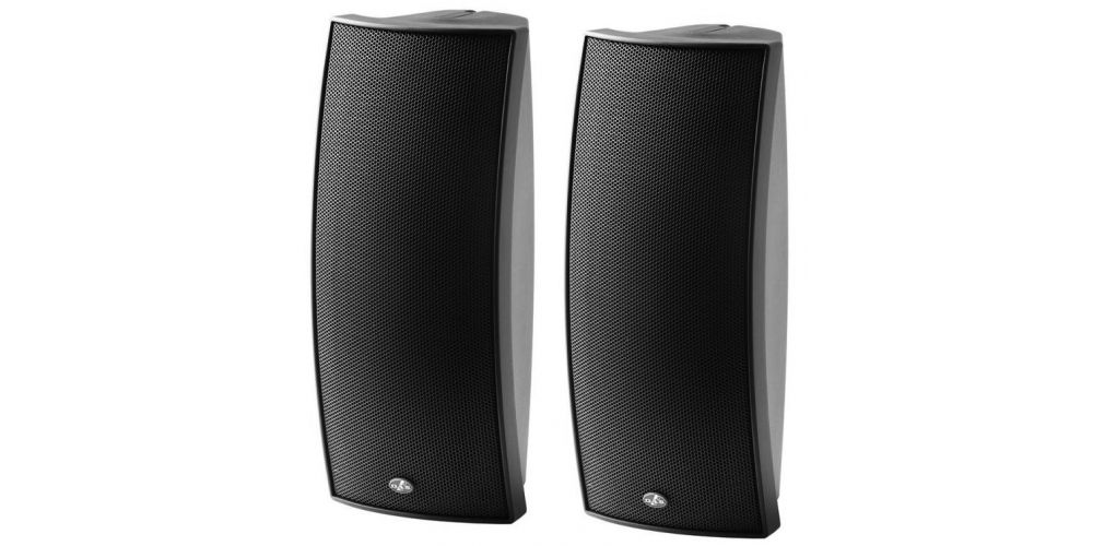 das audio arco 24t altavoz de techo o pared negro
