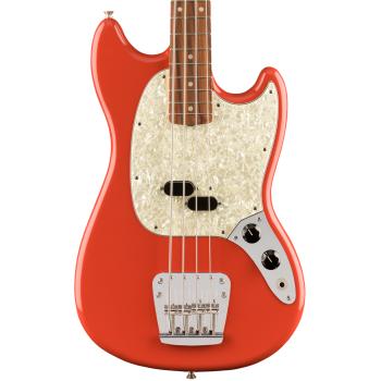 Fender Vintera 60s Mustang Bass PF Fiesta Red. Bajo Eléctrico