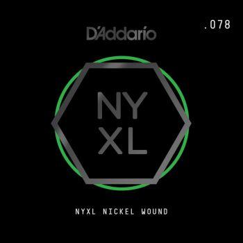 D´addario NYNW078 Cuerda Suelta para Guitarra Eléctrica