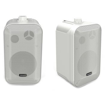 Audibax Orion 5 White Pareja Altavoces Pasivos 70w Pared 5 Pulgadas