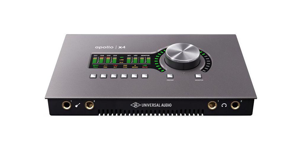 universal audio apollo x4 conexiones