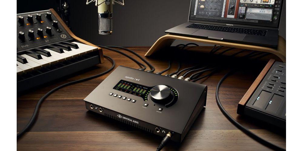 universal audio apollo x4 thunderbolt