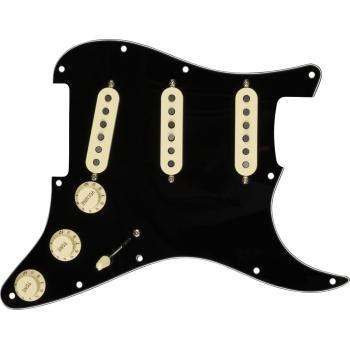 Fender Golpeador Pre-Wired Strat Custom Shop Fat 50s SSS Black