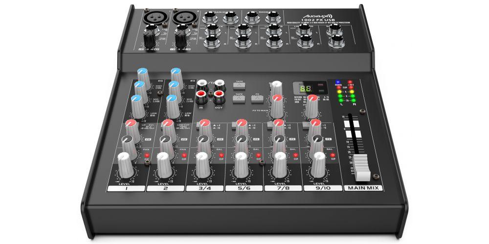 audibax 1002 fx usb conexiones
