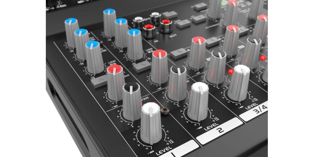 audibax 1002 fx usb controles oferta