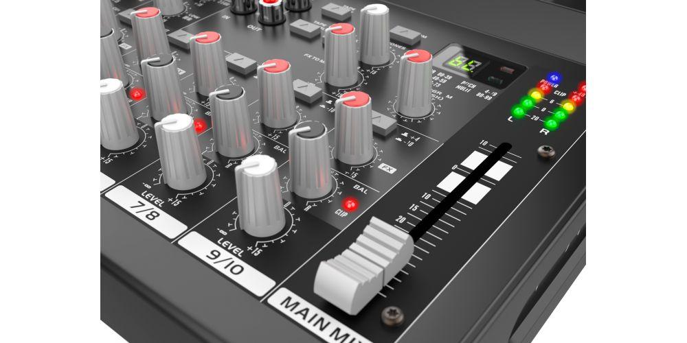 audibax 1002 fx usb controles