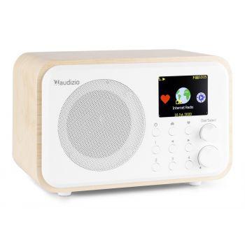 Audizio Venice Radio Wifi Internet + BT Con Batería Color Blanco 102218