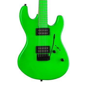 Dean Guitars Custom Zone 2 HB Florescent Green. Guitarra Eléctrica