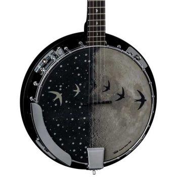 Luna Guitars Moonbird 5-String Banjo con Pastilla