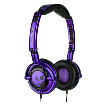 auricular Skullcandy Lowrider SC Purple Black Micro