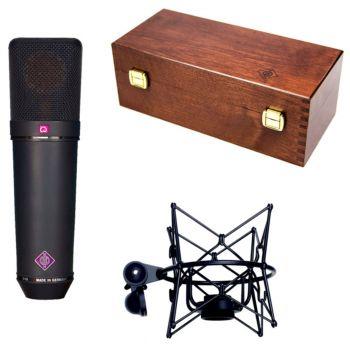 NEUMANN U-87 Ai Studio Set Microfono Multipatron NEGRO