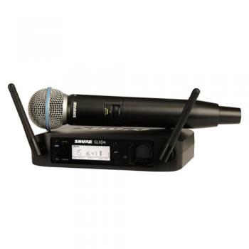 SHURE GLXD24E SM58 Microfono inalambrico Digital de Mano
