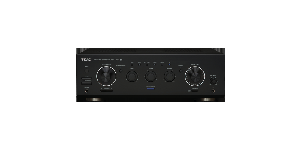 TEAC A-R630B Amplificador Stereo 60W, Negro, AR630-B