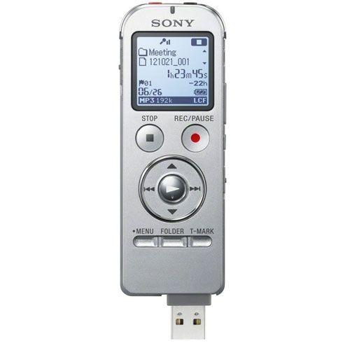 SONY ICD-UX533S Silver Grabadora digital 4Gb