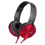 SONY MDR-XB450APR  Auricular Diadema Extabass Rojo