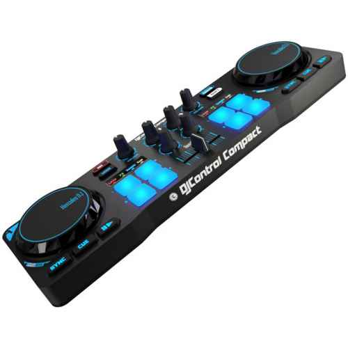 hercules djcontrol compact controlador