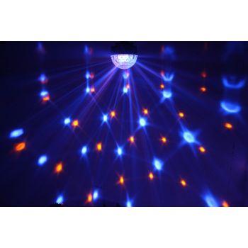 Max Magic Jelly DJ Ball 6x 1W LED con reproductor MP3 153228
