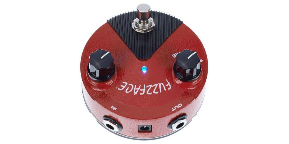 dunlop fuzz face mini germanium back