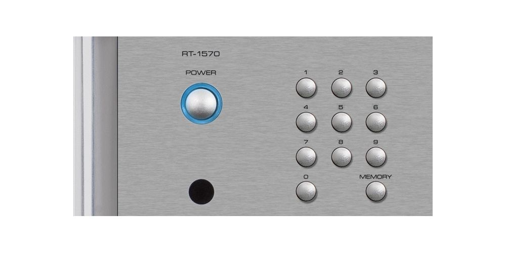 ROTEL RT-1570 Black Sintonizador FM, DAB