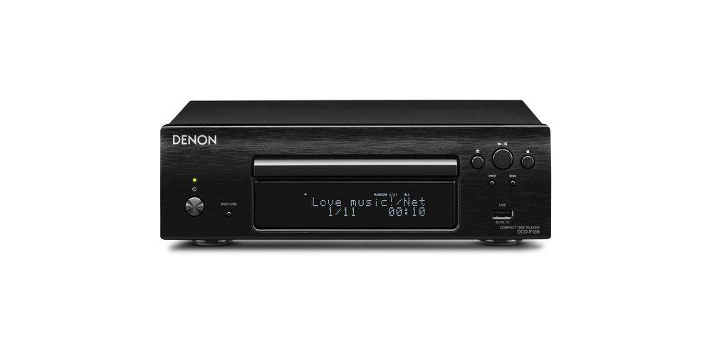 denon dcd f109bk compact disc black