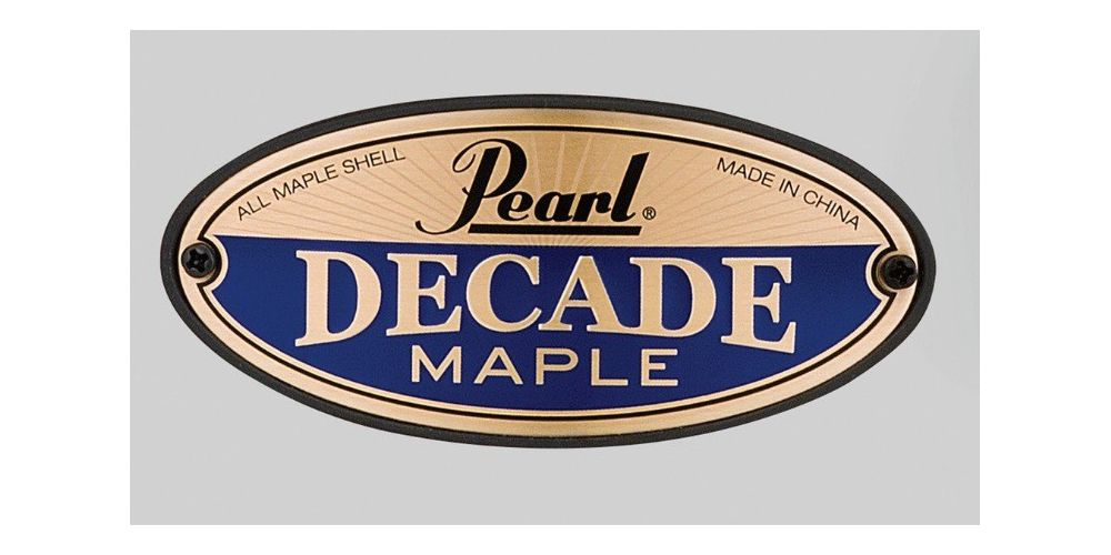 pearl decade maple dmp925s white satin pearl precio